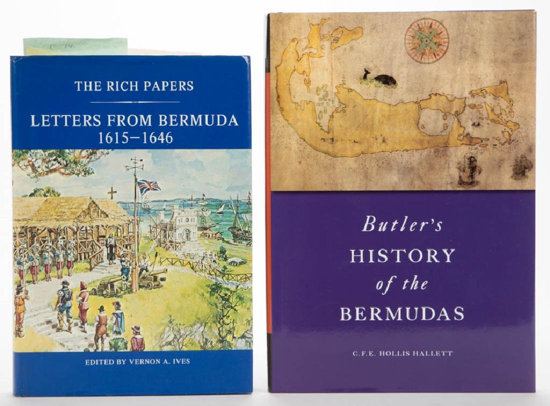BERMUDA HISTORY VOLUMES, LOT OF TWO