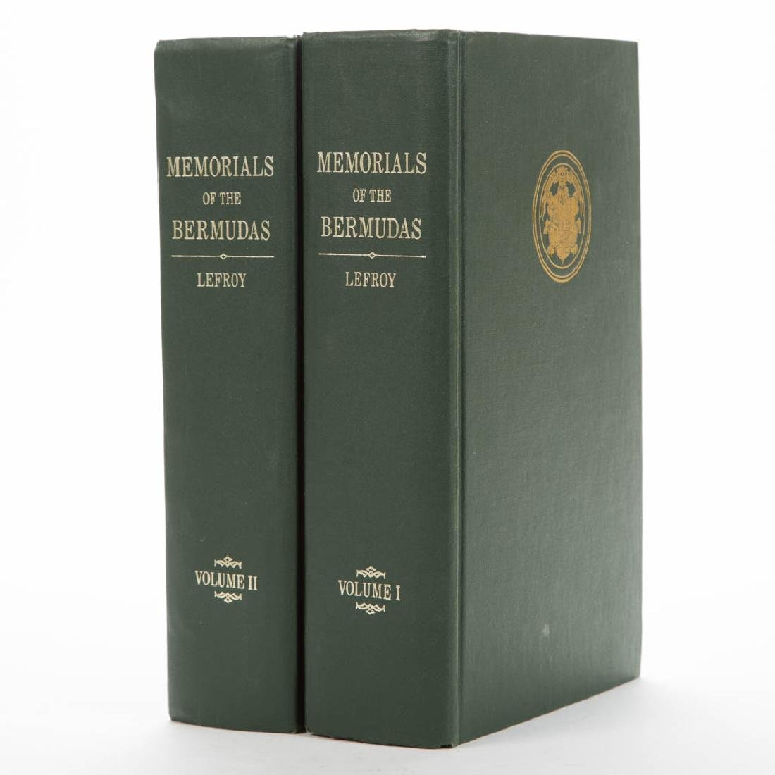 BERMUDA HISTORY / ARCHAEOLOGY VOLUMES, SET OF TWO