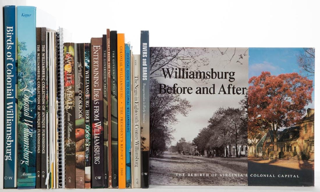 COLONIAL WILLIAMSBURG AND RELATED LITERATURE / VOLUMES,