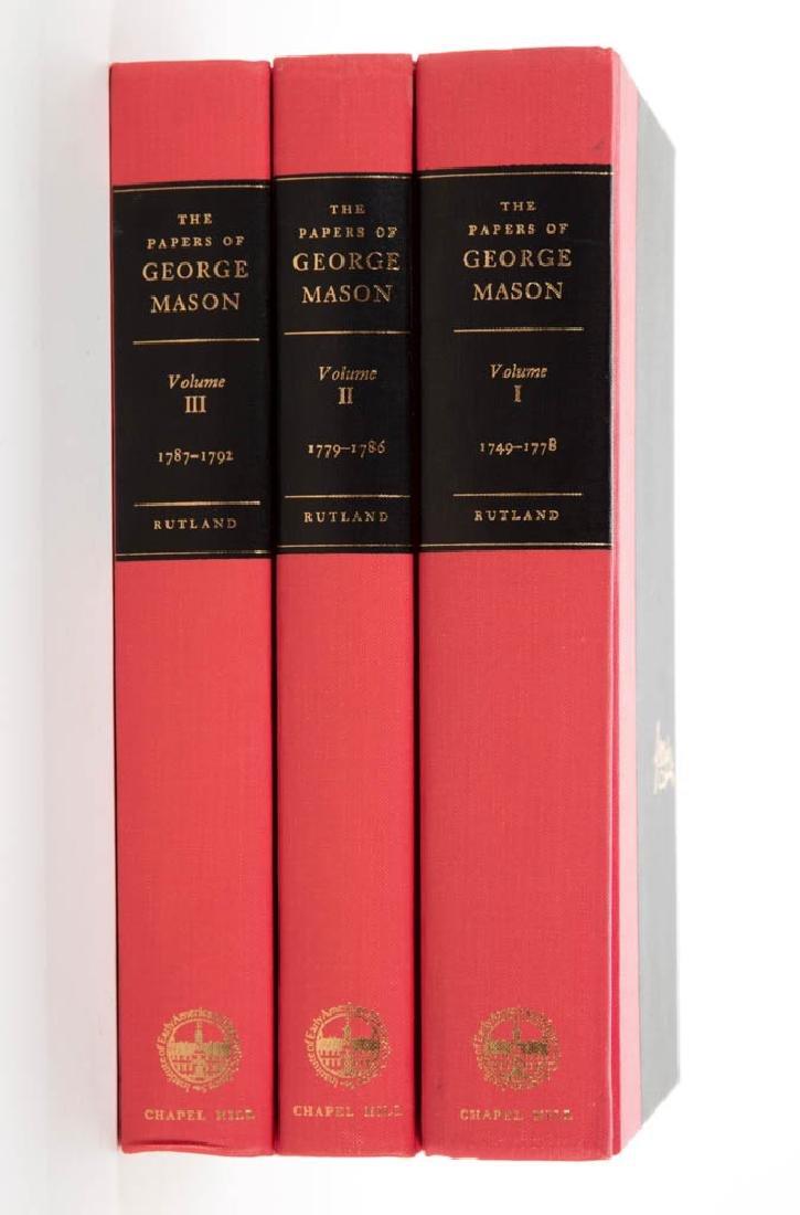 AMERICAN / VIRGINIA HISTORY VOLUMES, SET OF THREE