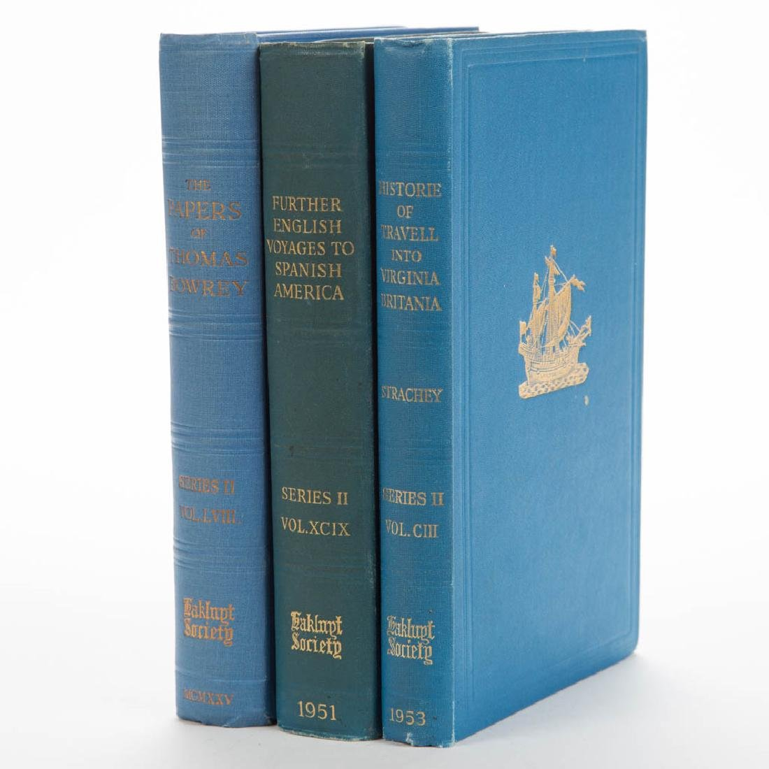 AMERICAN COLONIAL VIRGINIA / DISCOVERY VOLUMES, LOT OF