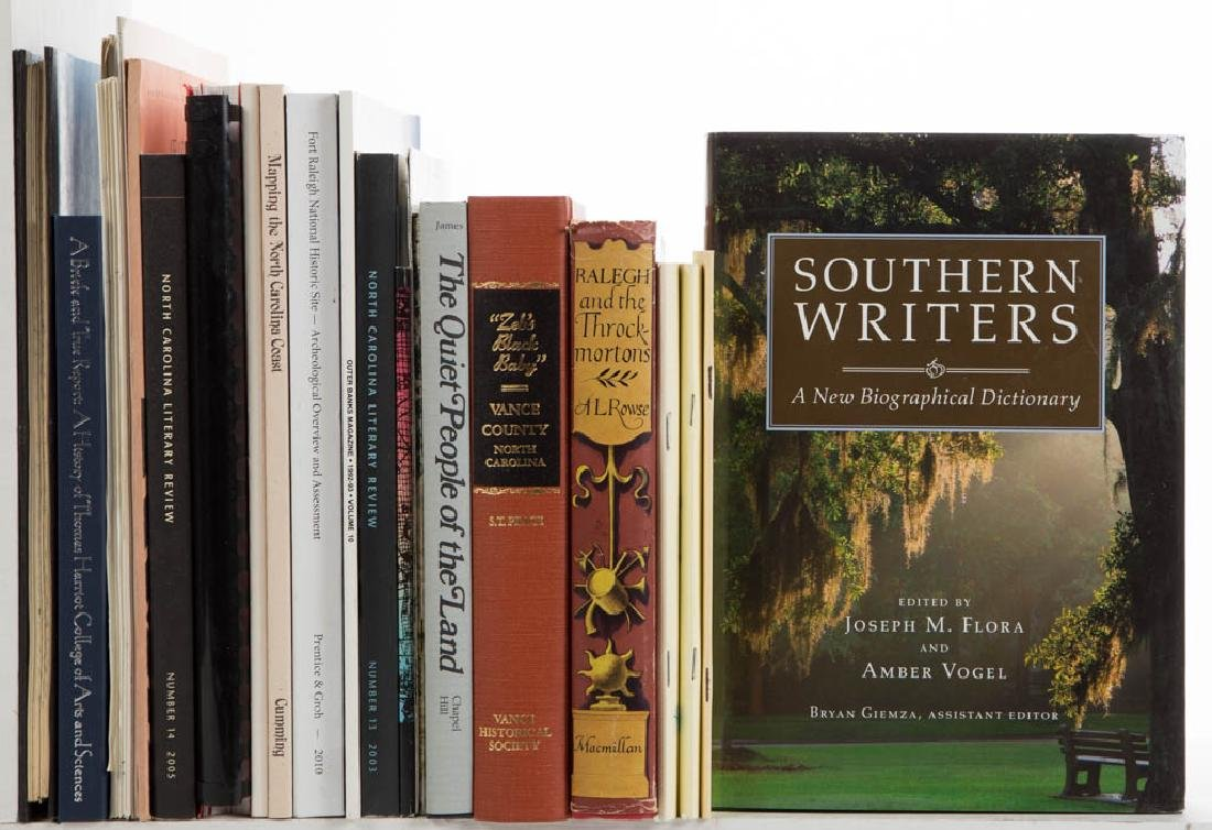 AMERICAN NORTH CAROLINA COLONIAL HISTORY AND RELATED