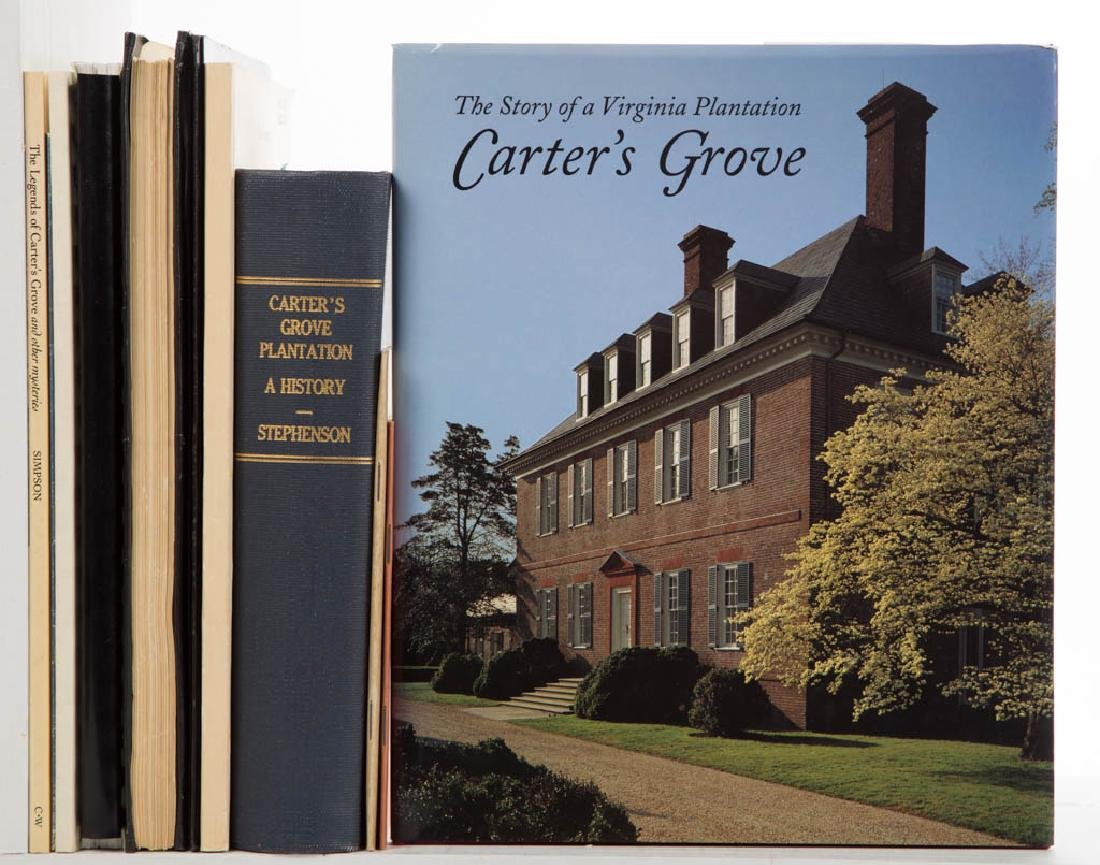AMERICAN VIRGINIA HISTORY - CARTER'S GROVE PLANTATION