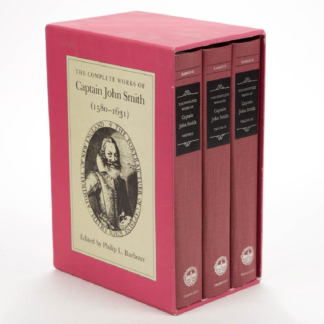 AMERICAN VIRGINIA HISTORY JOHN SMITH VOLUMES, LOT OF