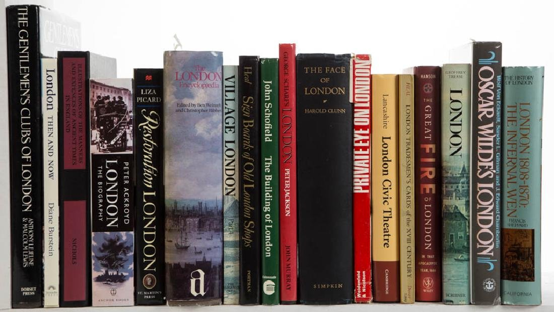 ENGLISH / LONDON AND RELATED VOLUMES / RESEARCH