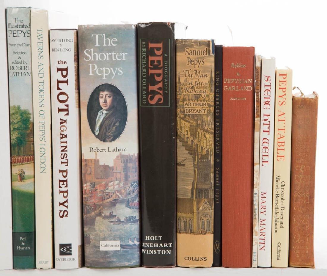 SAMUEL PEPYS / LONDON HISTORY LITERATURE / VOLUMES, LOT