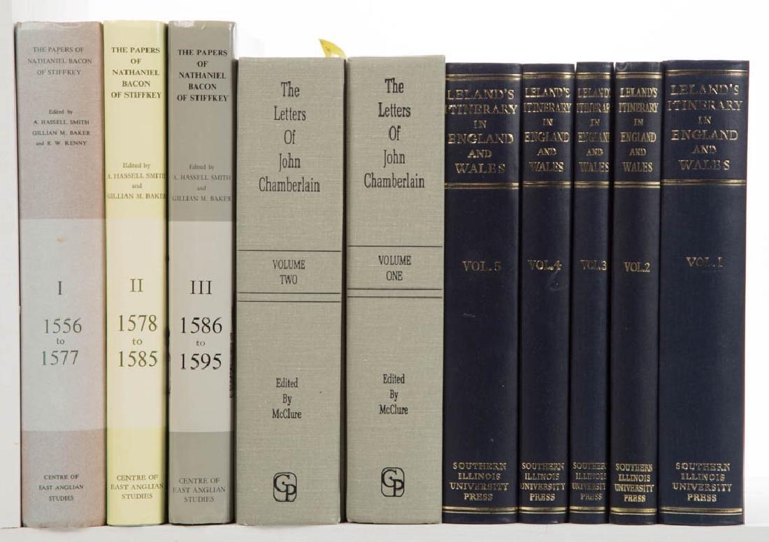 BRITISH PRIMARY SOURCE VOLUMES, LOT OF TEN