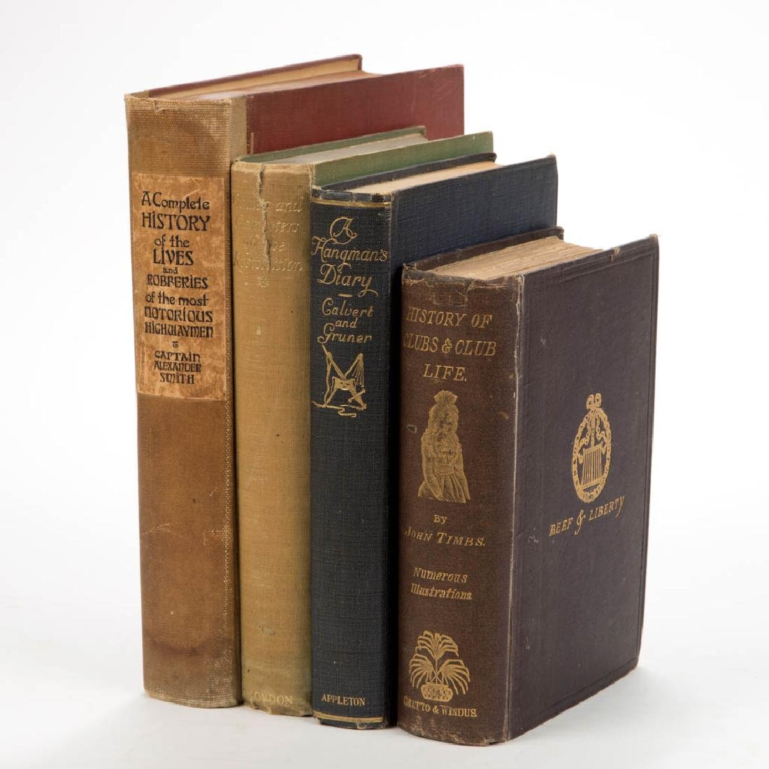 BRITISH / CONTINENTAL HISTORY LITERATURE / VOLUMES, LOT