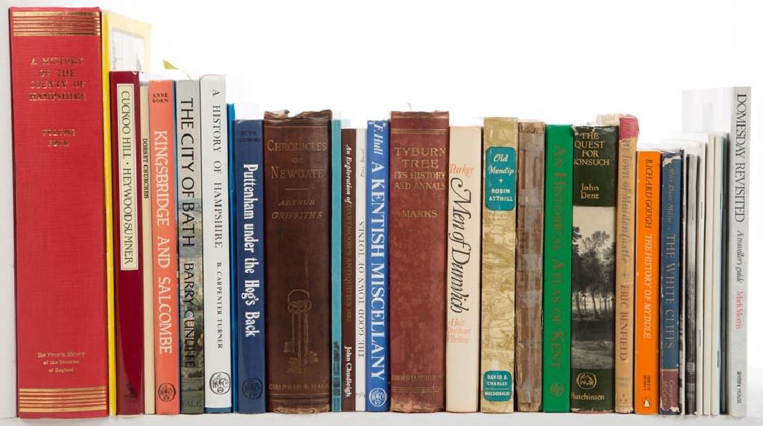 BRITISH VILLAGE / TOWN HISTORY VOLUMES, LOT OF 31