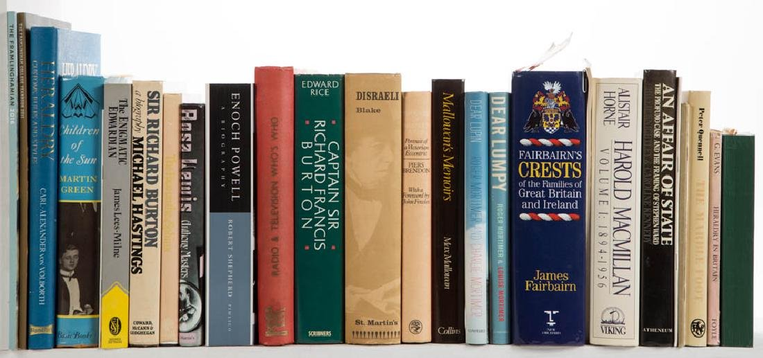 ASSORTED BRITISH HISTORY AND RELATED VOLUMES, LOT OF 27