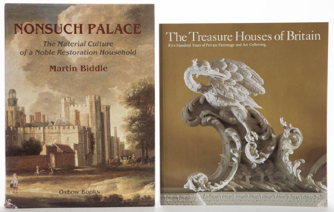 ENGLISH ARCHITECTURAL VOLUMES, LOT OF TWO