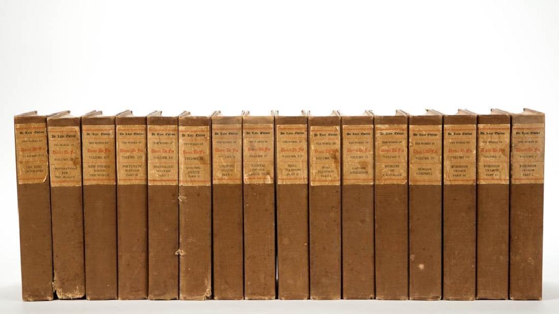 ENGLISH CLASSIC LITERATURE VOLUMES, SET OF 16
