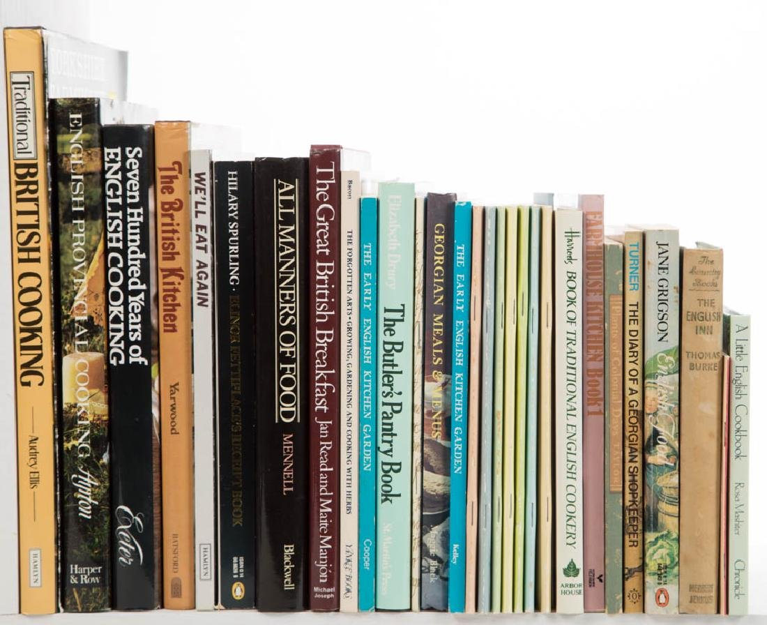 ENGLISH COOKING / FOOD / COOKBOOK AND RELATED VOLUMES /