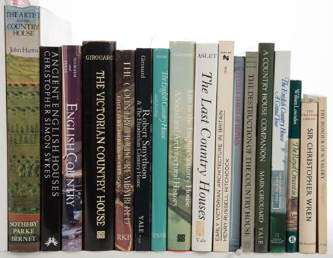 ENGLISH COUNTRY HOUSE VOLUMES, LOT OF 17