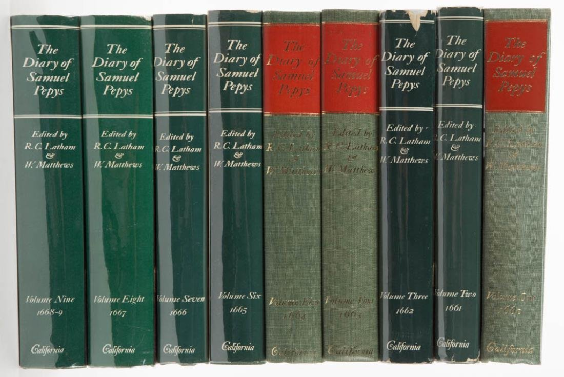 ENGLISH HISTORY LITERATURE / VOLUMES, LOT OF NINE