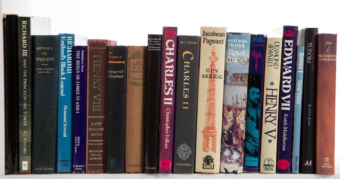 ENGLISH MONARCHY / GENERAL HISTORY VOLUMES, LOT OF 42