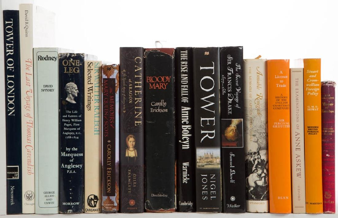 ENGLISH MONARCHY / GENERAL HISTORY VOLUMES, LOT OF 33