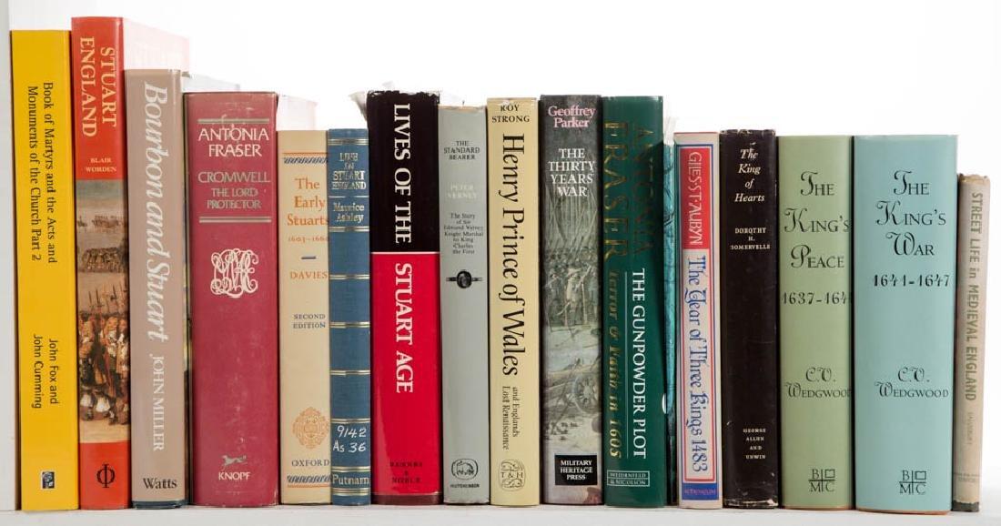 ENGLISH MONARCHY / GENERAL HISTORY VOLUMES, LOT OF 43