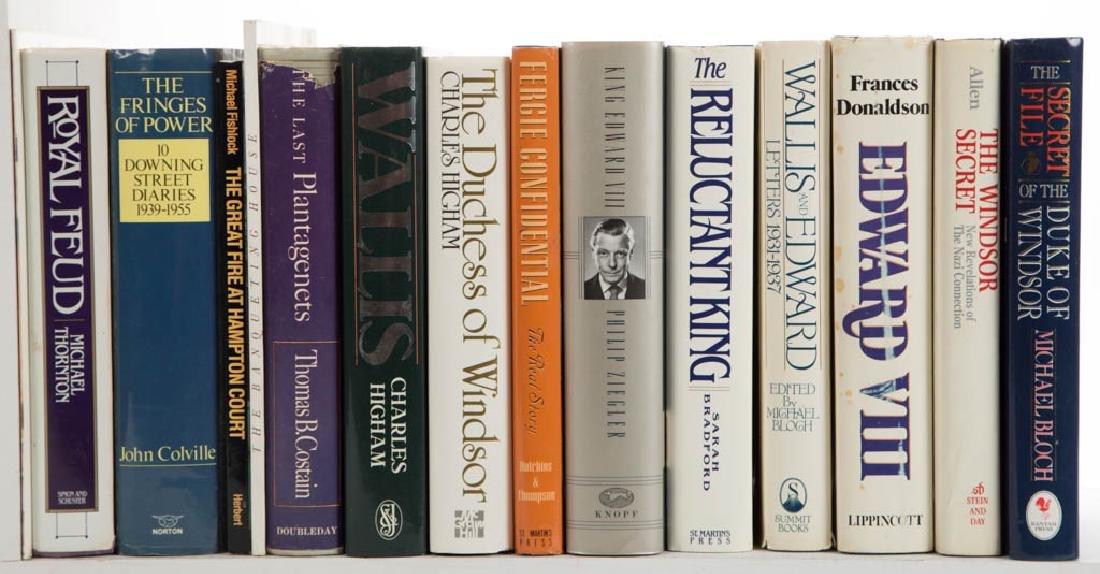 ENGLISH MONARCHY / ROYALTY HISTORY VOLUMES, LOT OF 49
