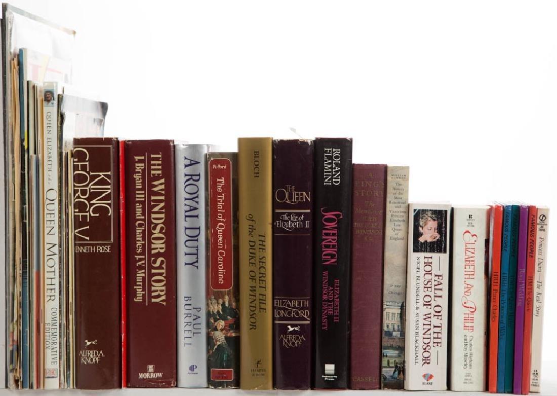 ENGLISH MONARCHY / ROYALTY HISTORY VOLUMES, LOT OF 49 - 2
