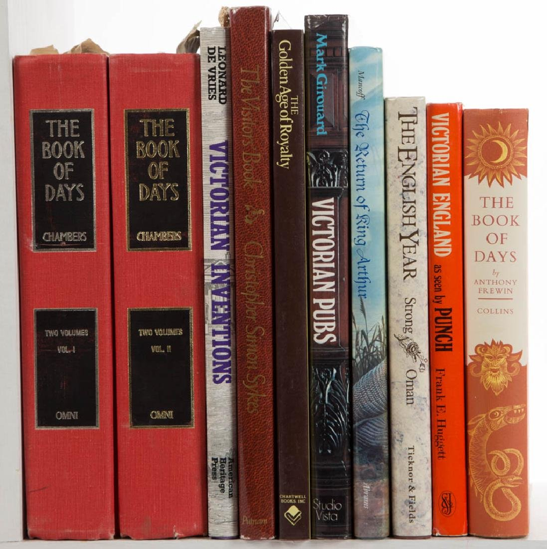 ENGLISH VICTORIAN / REGENCY HISTORY VOLUMES, LOT OF 25