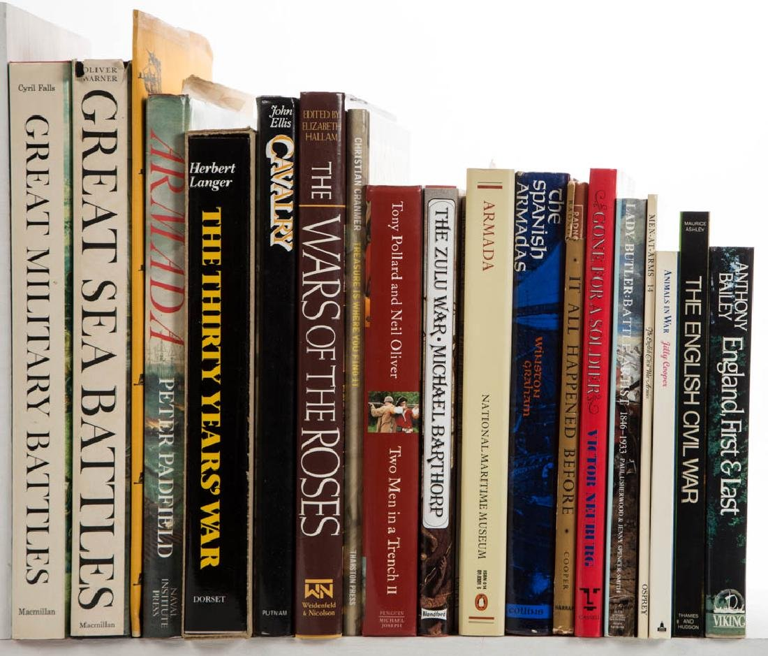 MILITARY HISTORY VOLUMES, LOT OF 46