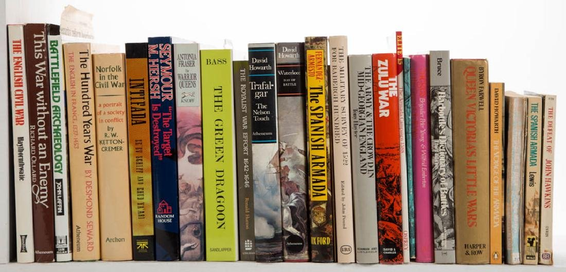 MILITARY HISTORY VOLUMES, LOT OF 46 - 2