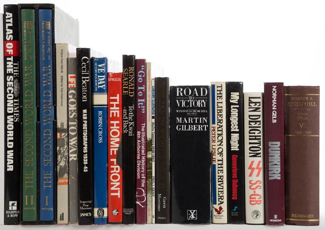 WORLD WAR TWO / WWII MILITARY AND RELATED LITERATURE /