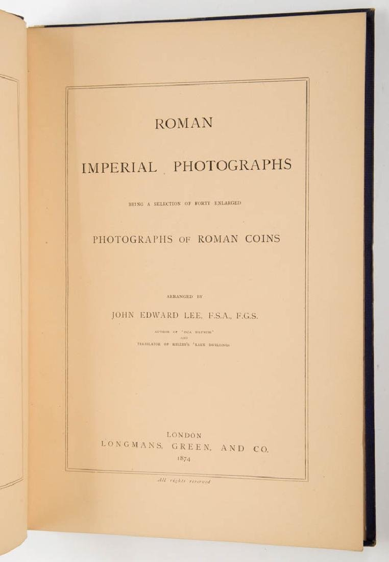 ROMAN COIN NUMISMATICS REFERENCE VOLUME - 2