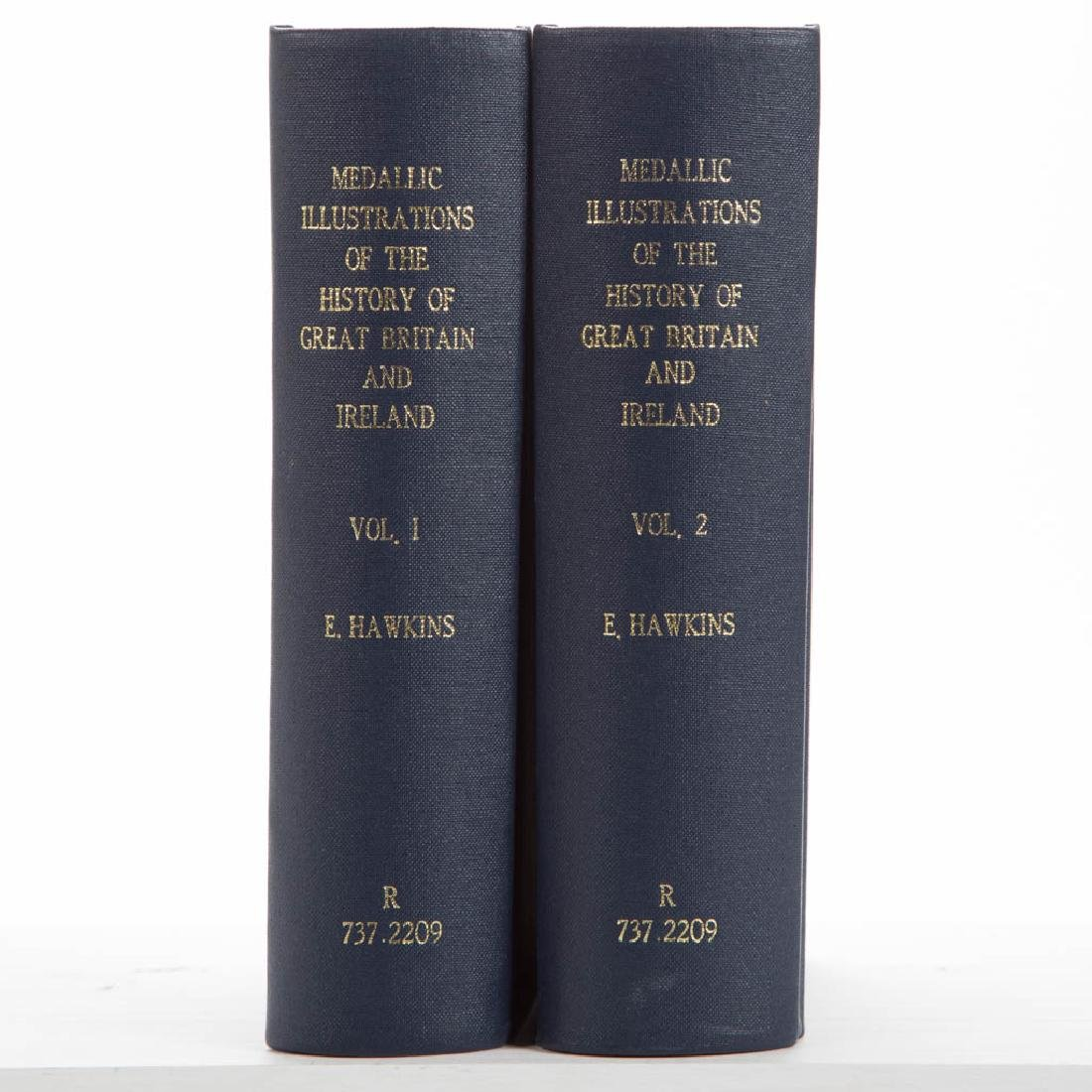 BRITISH NUMISMATIC VOLUMES, LOT OF TWO
