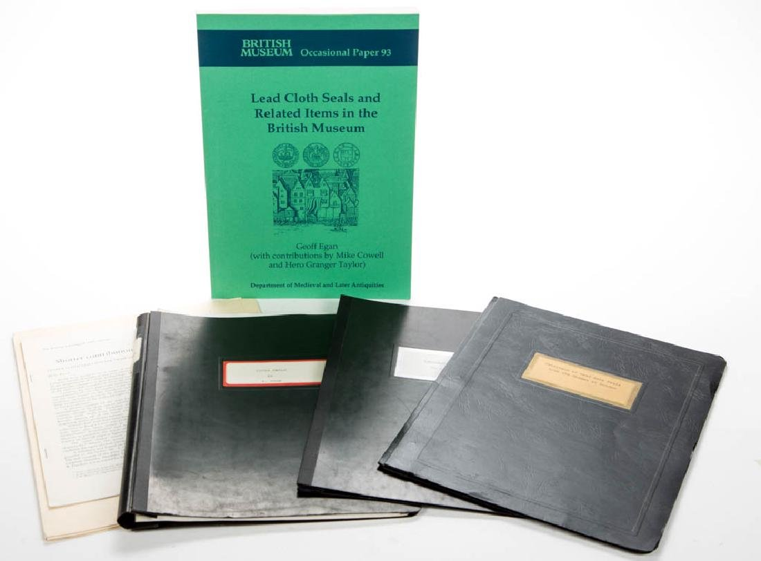 BRITISH CLOTH SEAL VOLUMES, LOT OF SIX