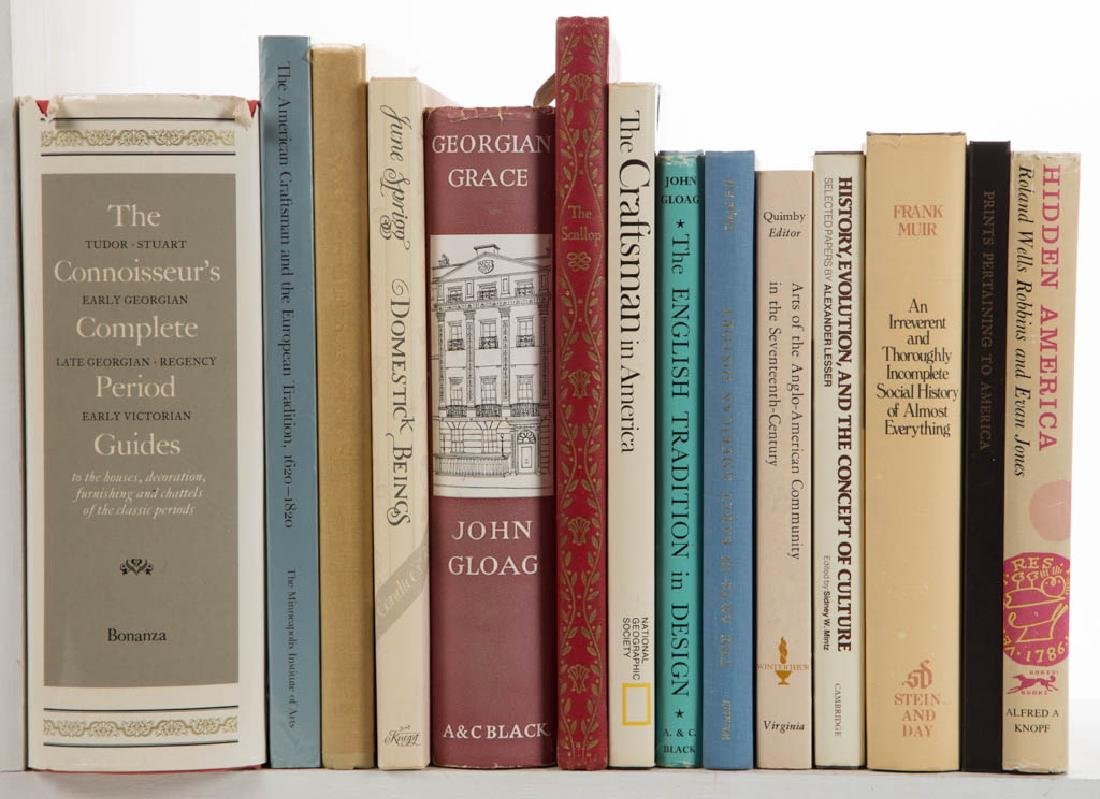 ANTIQUES / MATERIAL CULTURE VOLUMES / RESEARCH