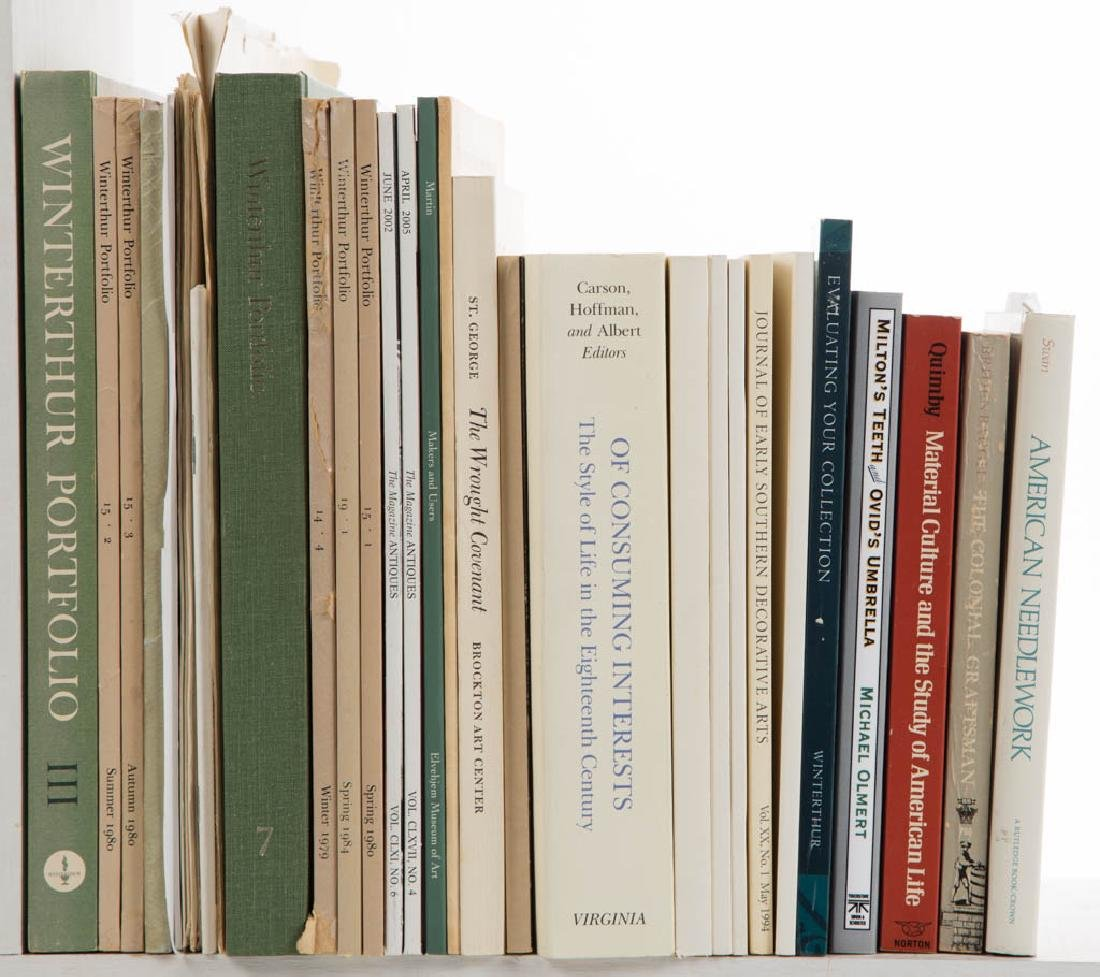 ANTIQUES / MATERIAL CULTURE VOLUMES / RESEARCH - 2