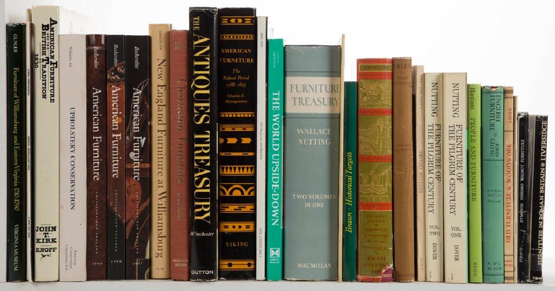AMERICAN / BRITISH FURNITURE AND RELATED VOLUMES, LOT