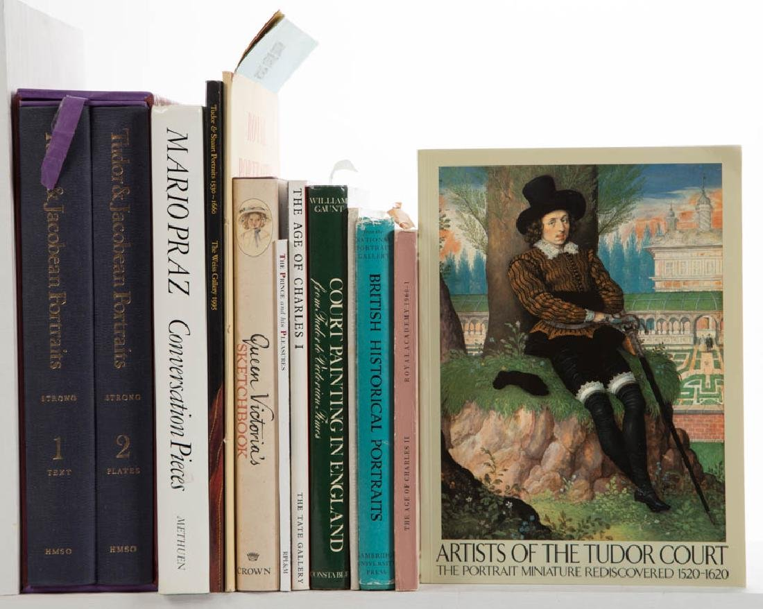 BRITISH ART AND RELATED VOLUMES / RESEARCH MATERIALS,