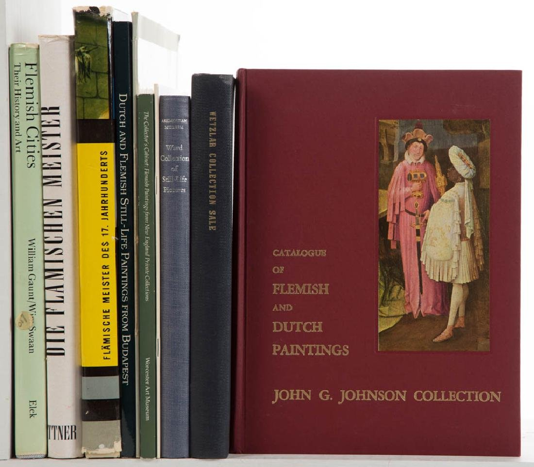 DUTCH MASTERS AND RELATED ART VOLUMES, LOT OF TEN