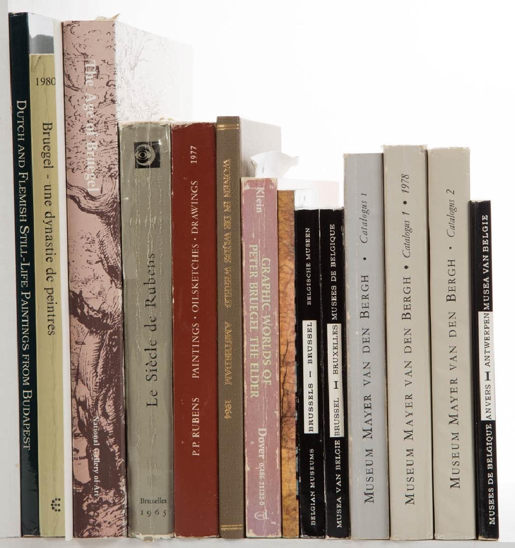 EUROPEAN ART AND RELATED VOLUMES, LOT OF 15