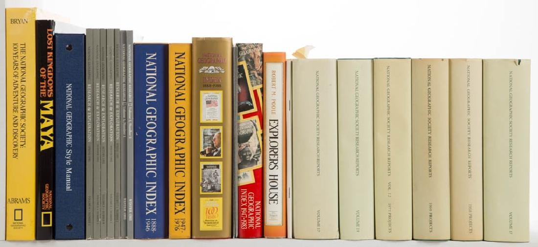 NATIONAL GEOGRAPHIC SOCIETY PERIODICALS AND VOLUMES,