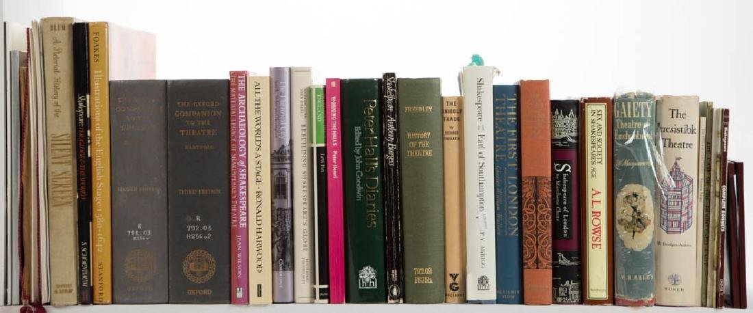 SHAKESPEARE / THEATRE AND RELATED VOLUMES, LOT OF 27