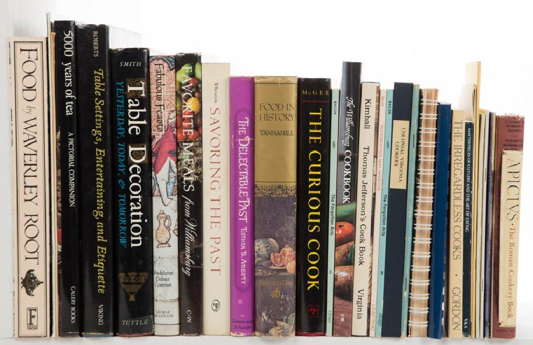 ASSORTED COOKING / FOOD / COOKBOOK AND RELATED VOLUMES