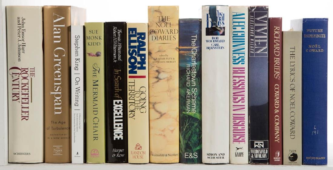 ASSORTED NON-FICTION / FICTION VOLUMES, LOT OF 29