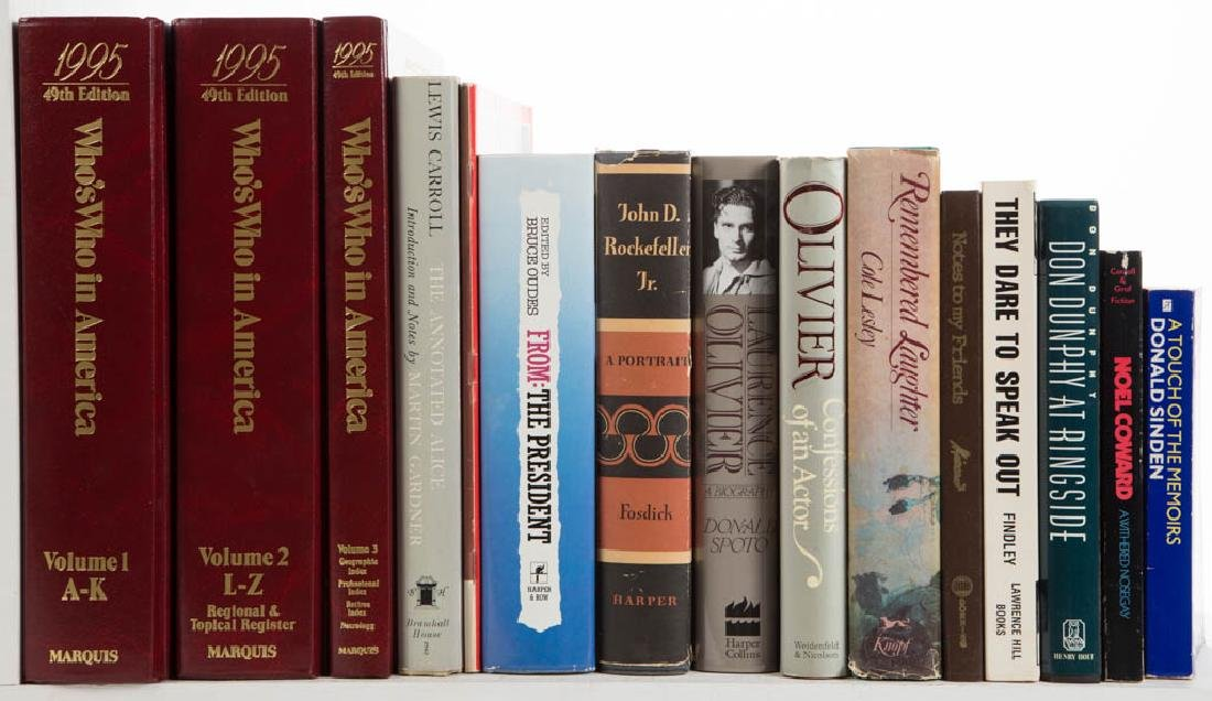 ASSORTED NON-FICTION / FICTION VOLUMES, LOT OF 29 - 2