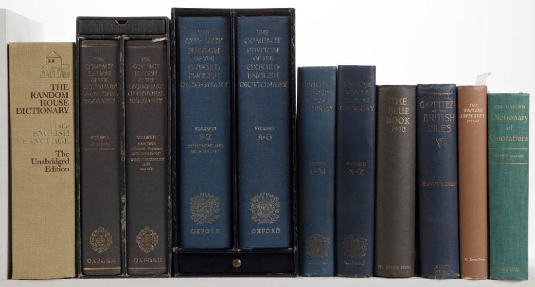 ASSORTED WRITING / REFERENCE VOLUMES / RESEARCH