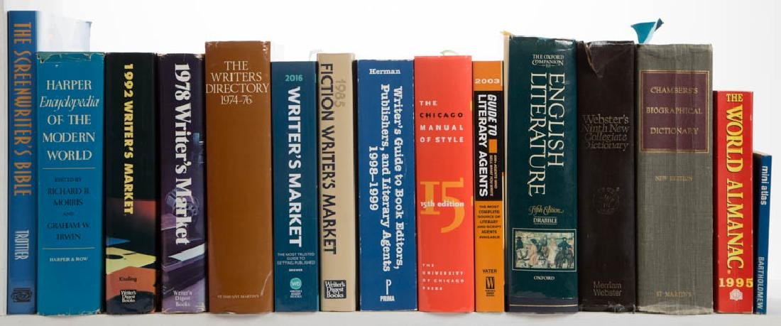 ASSORTED WRITING / REFERENCE VOLUMES / RESEARCH - 2