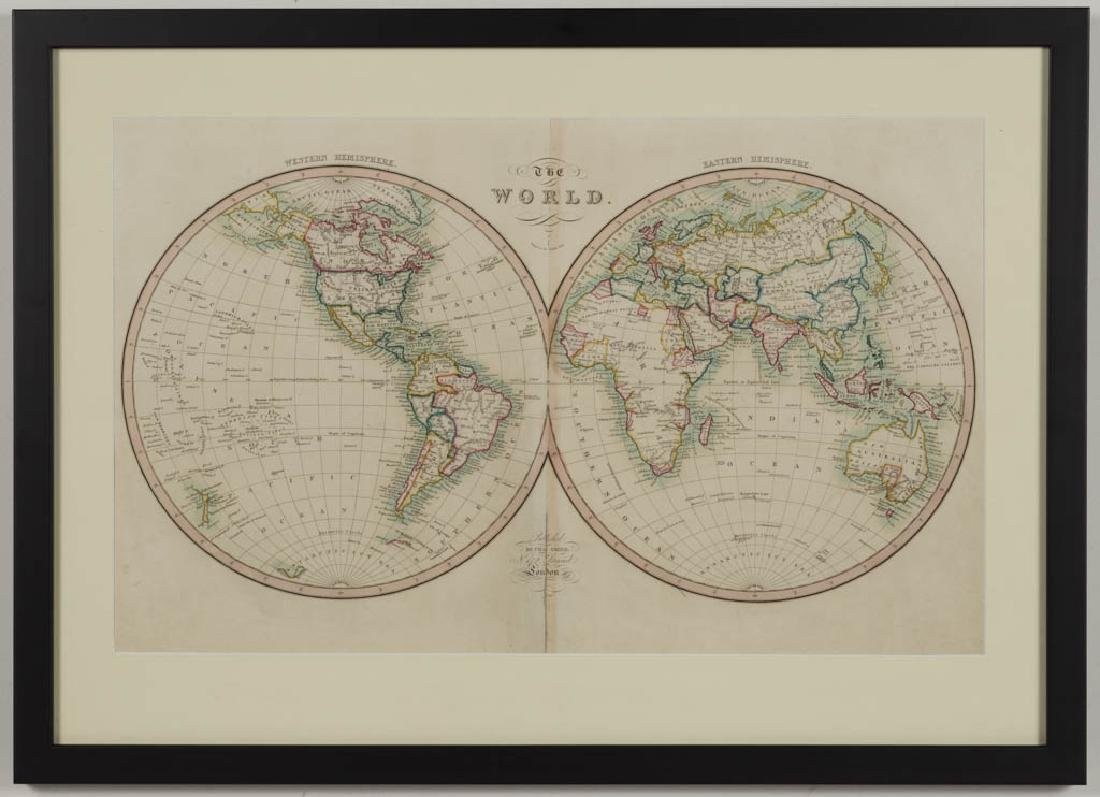 CHARLES SMITH (ENGLISH, 1768-1854) MAP OF THE WORLD