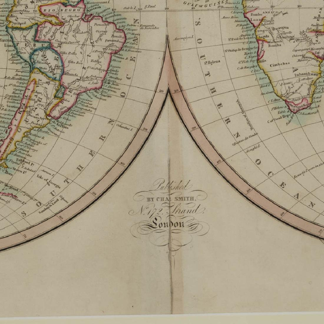 CHARLES SMITH (ENGLISH, 1768-1854) MAP OF THE WORLD - 2