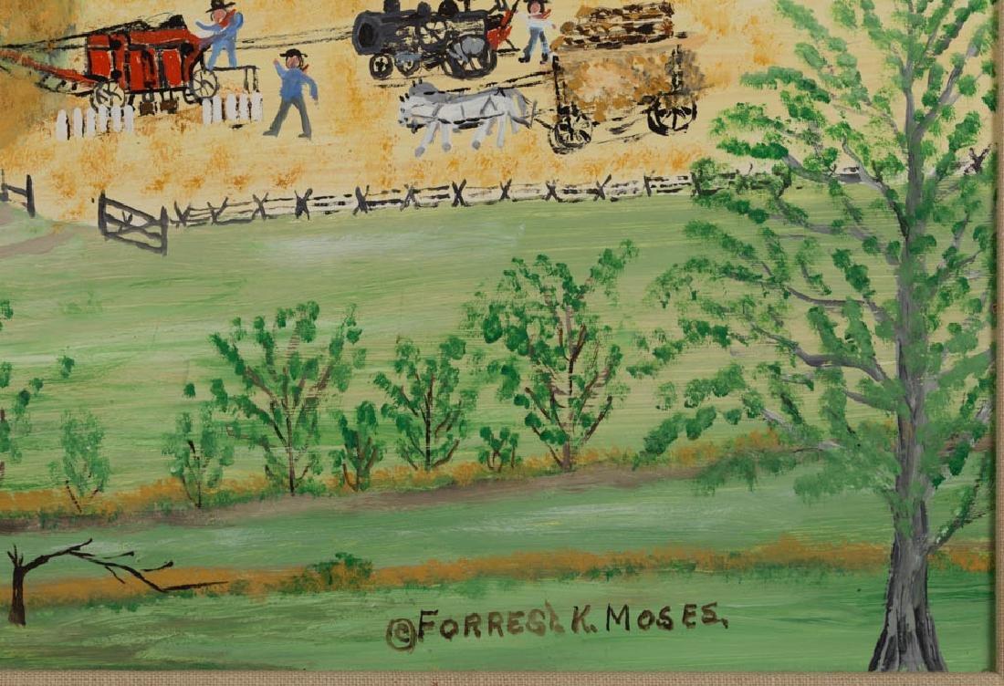 FORREST KING MOSES (AMERICAN, 1893-1974) FOLK ART - 2