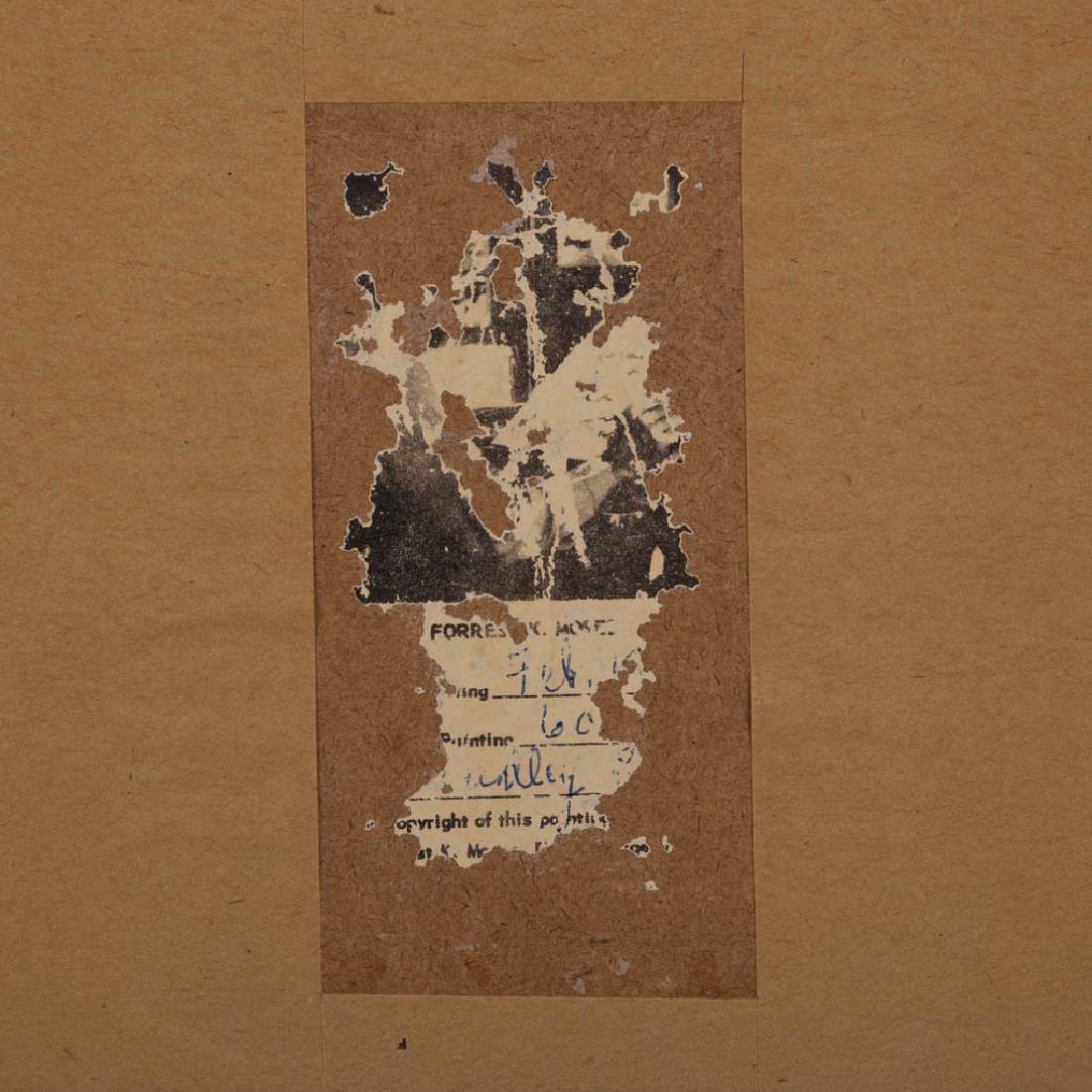 FORREST KING MOSES (AMERICAN, 1893-1974) FOLK ART - 4