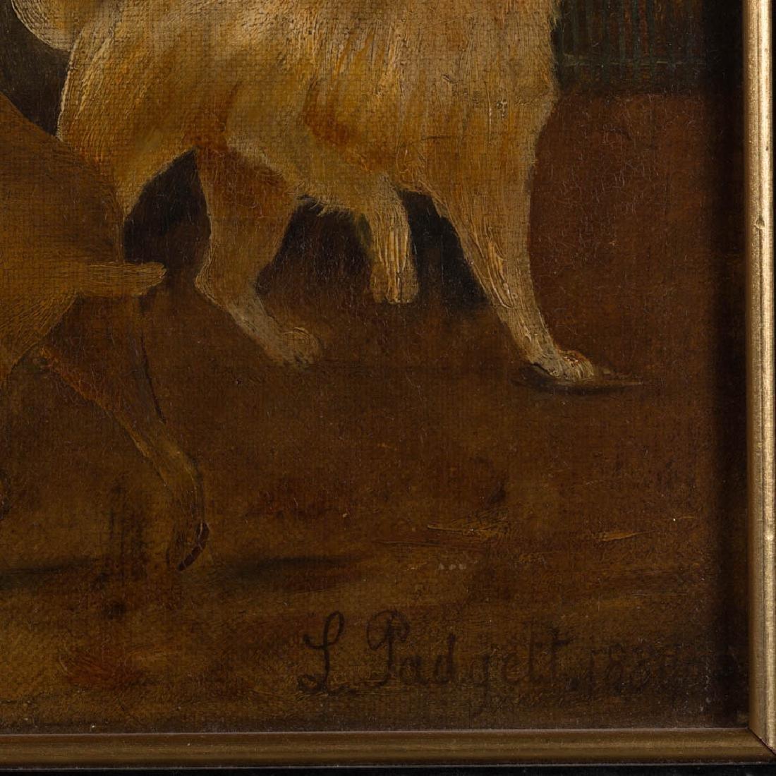 PAIR OF BRITISH SCHOOL (19TH CENTURY) FOLK ART FARM - 3