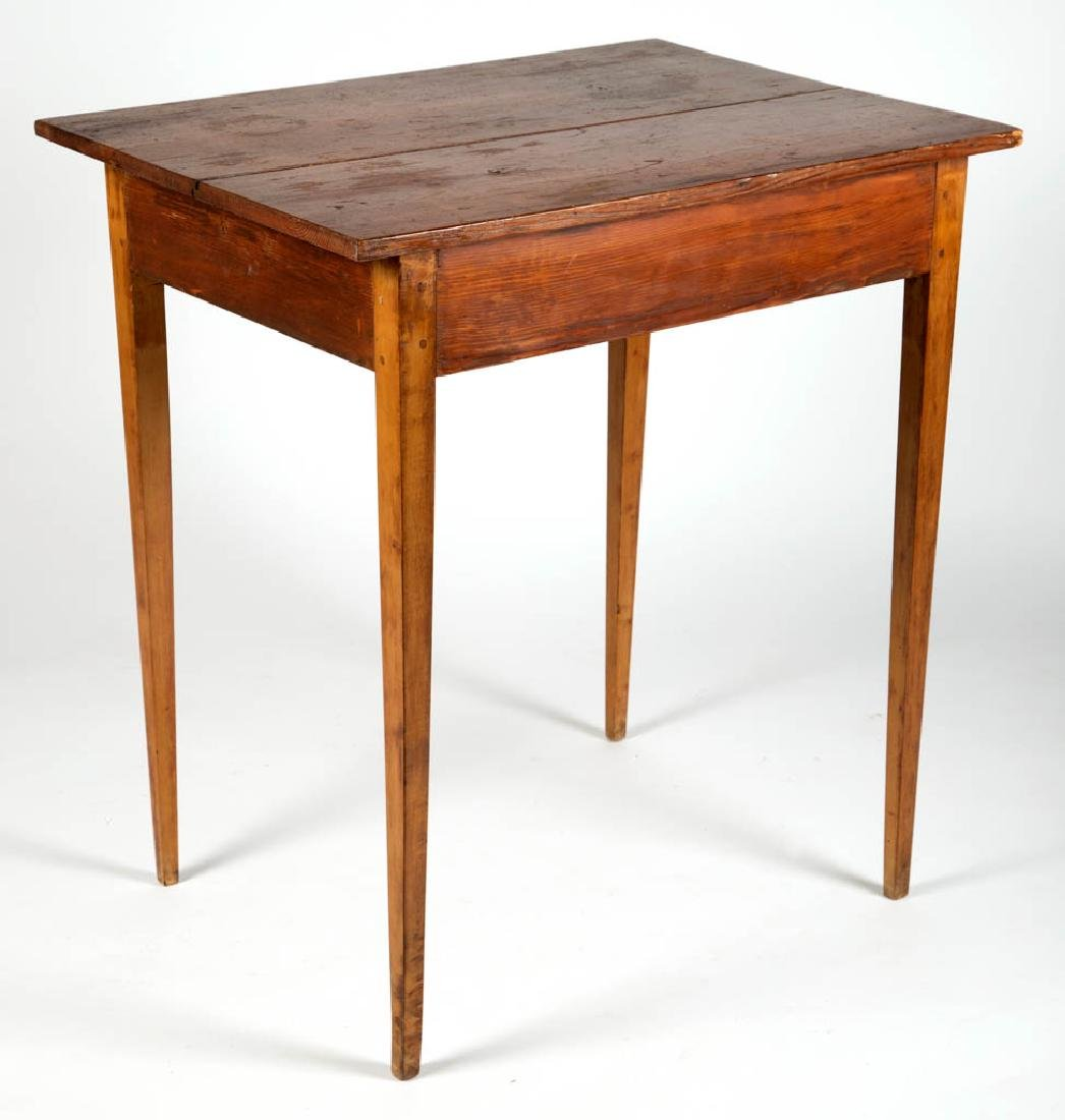 VIRGINIA BIRCH AND YELLOW PINE SERVING TABLE - 3